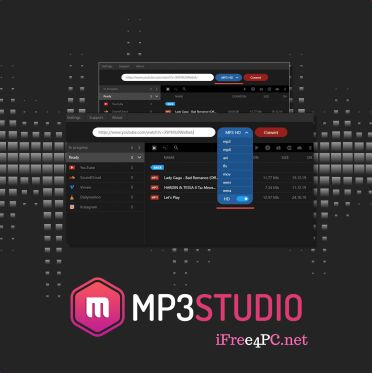 Mp3Studio Youtube Downloader 2.0.9.6 Crack With Serial Key Full Free Download