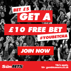 The Sun Bets Free £10