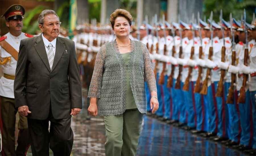 brasil cuba comunismo medicina apoyo