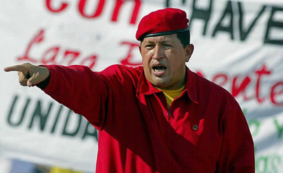chavez no era lider era extorsionista profesional