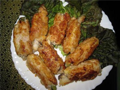 Мясные пальчики : Закуски и бутерброды