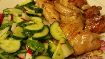Куриные крылья с медом в oursson 5005 : Вторые блюда в ...