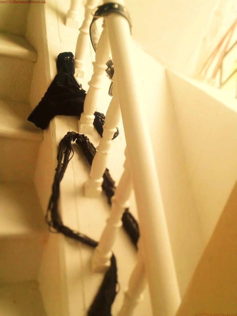 Sinful Sunday Stairs ~ Scorching Hot