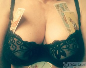 which witch selfie May More Tarot erotic blog