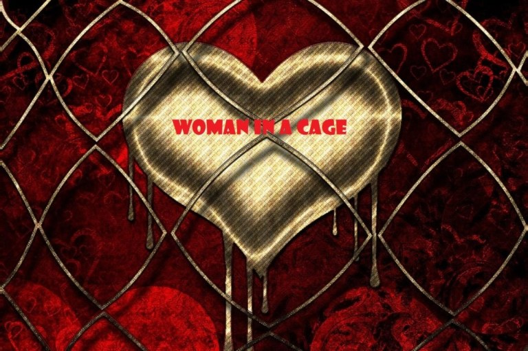 Woman in a Cage ~ Promotion via Social Media
