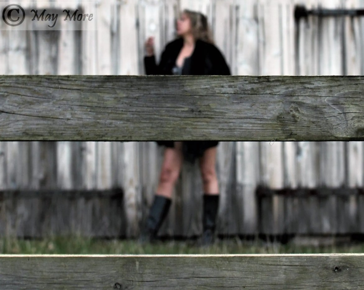 Fenced In ~ Behind Wooden Bars