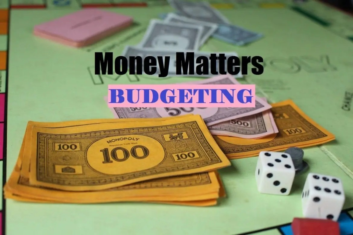 Money Matters Meme ~ Budgeting