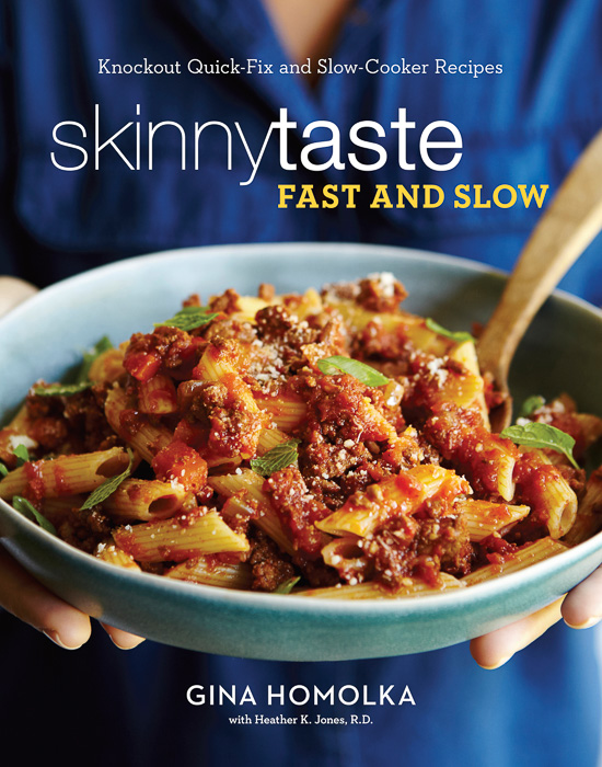 Review of Skinny Taste Fast and Slow. Read why I give it 5 Stars