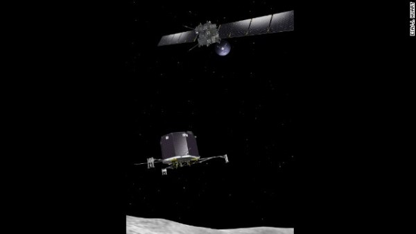 Landing spot chosen on comet