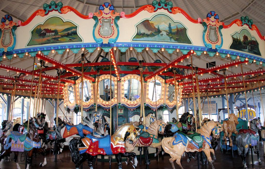 Santa Monica Carousel, Looff Carousel, Looff Hippodrome