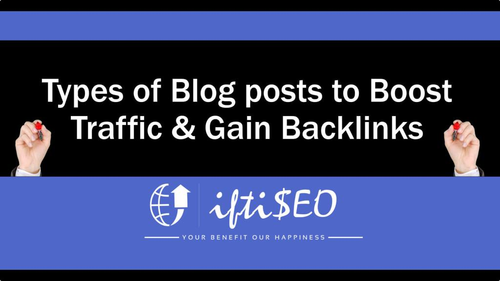 types-of-blog-posts
