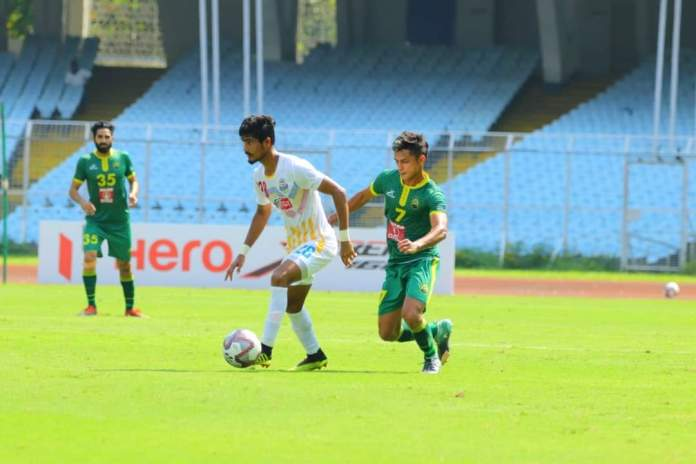 Bhawanipore FC tied up with Mohammedan SC as they notch a 1 - 2 win against the Garhwal Football Club FB IMG 1602679628570