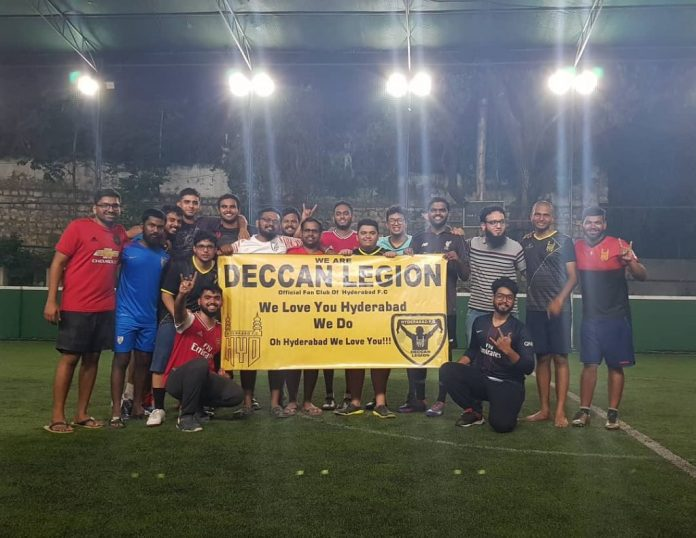 The 12th Men- How Hyderabad FC and Deccan Legion are reviving the lost glory of football in Hyderabad hfc supporters 3