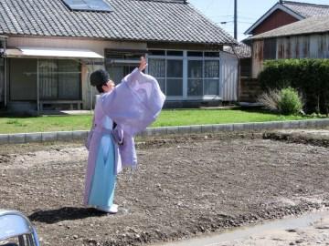 Kさま邸(三股の家)R元年.5.21 地鎮祭を行いました。