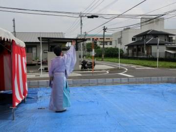 Hさま邸(三股の家)R元年6月1日 地鎮祭を行いました。