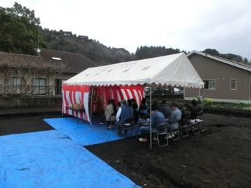Yさま邸(高崎の家)R3年2月27日 地鎮祭を行いました。