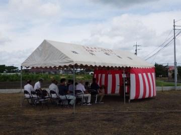 Mさま邸(末吉の家)R3年8月26日 地鎮祭を行いました。