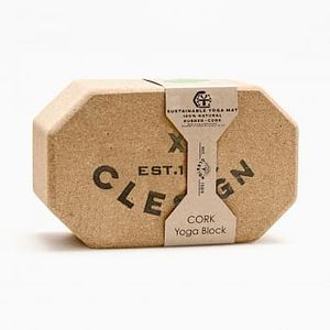 【Clesign】cork-yoga-block