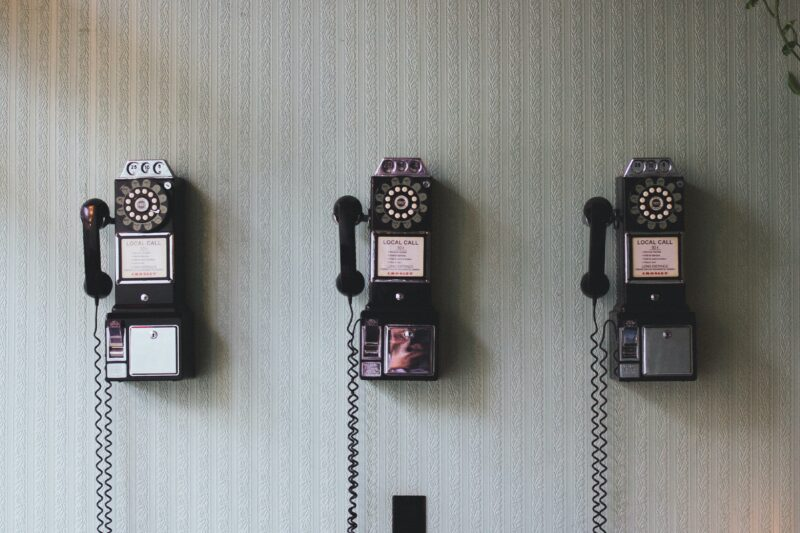 three-phones-on-the-wall