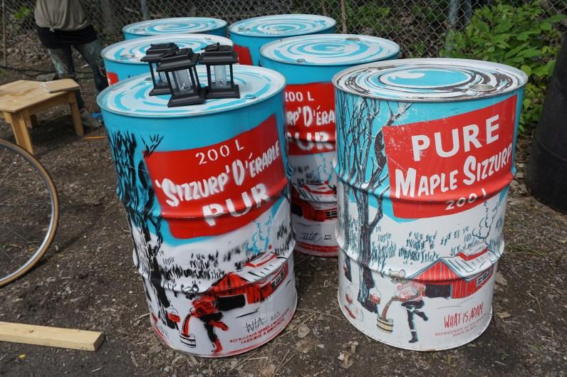 Les fameuses cans de Mapple Sizzurp