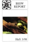 Titelseite BSSW-Report 3-1998