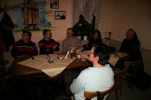 Bei der Reginalgruppe Sachsen, 18.02.2011