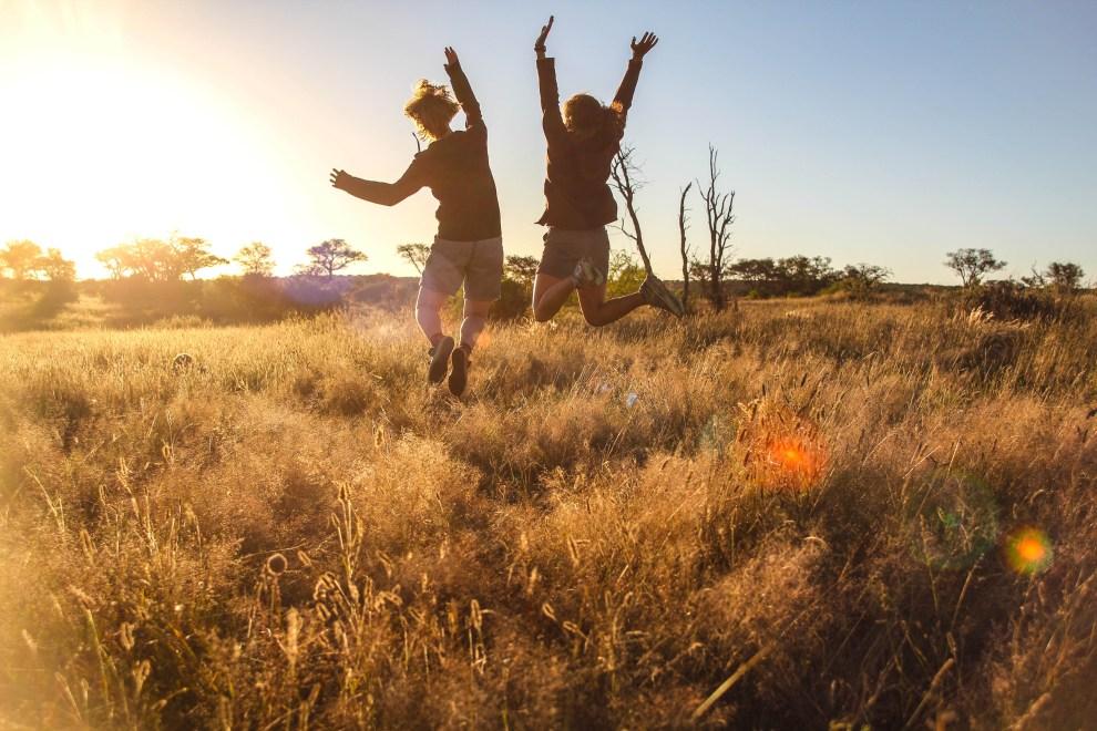 Fotografieren gegen die Sonne: Summer in Namibia