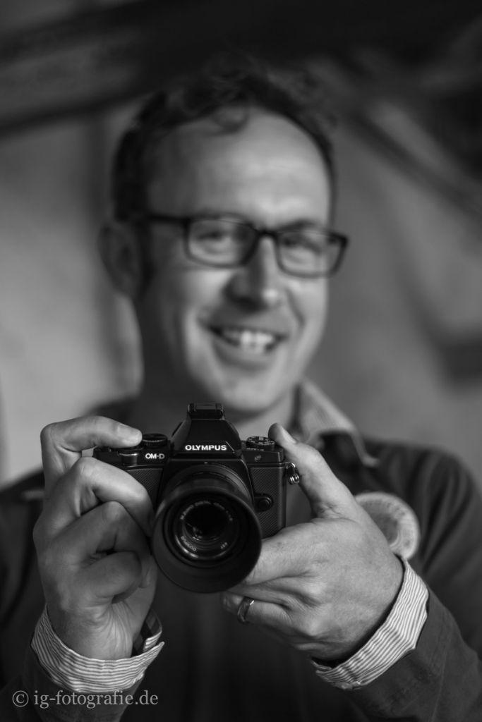 Amateurfotograf auf Fototour