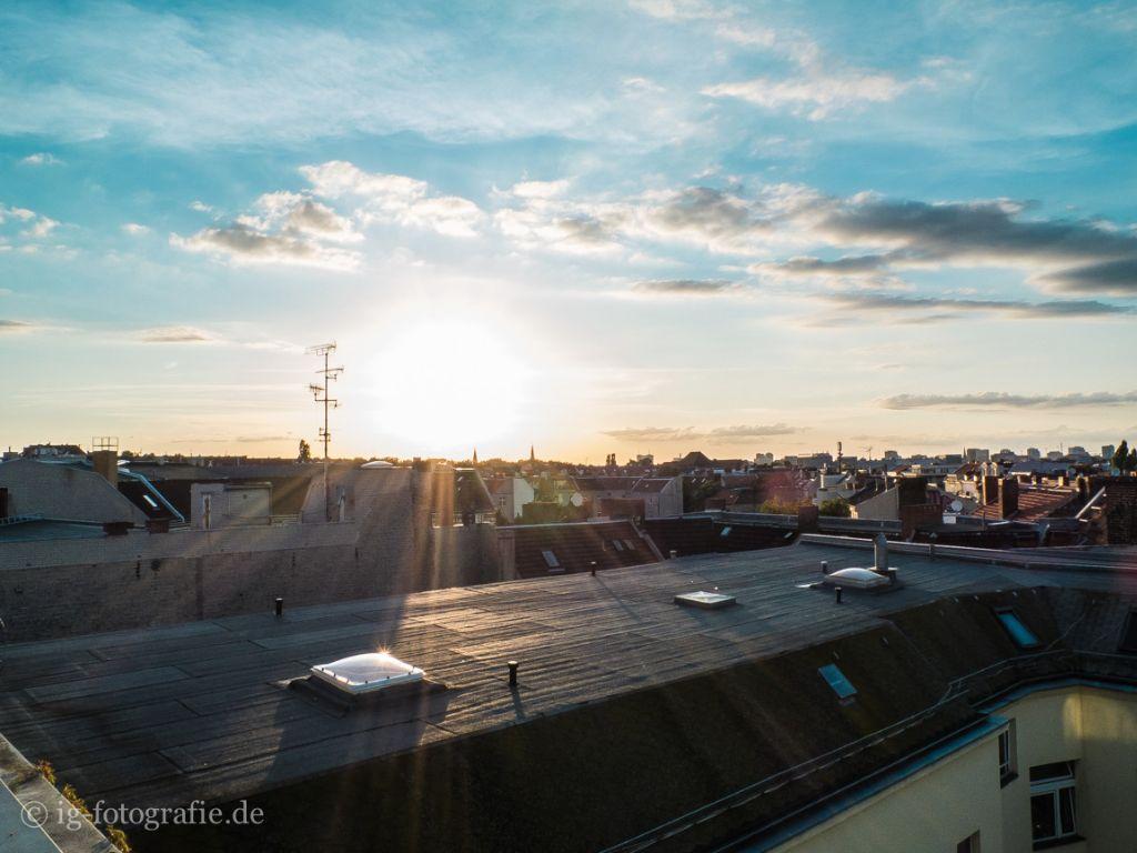 Sonnenuntergang Berlin fotografieren