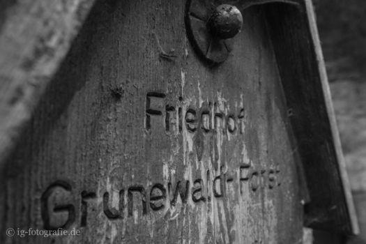 Fotolocation Selbstmörder Friedhof Grunewald Forst