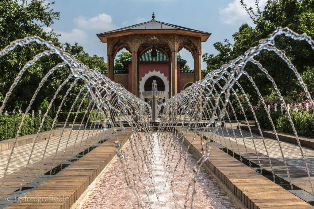 Orientalische Garten in Gaerten der Welt Marzahn Berlin