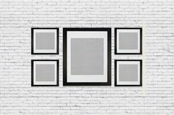 Denke in Symmetrie und orientiere dich an die Unterkante.
