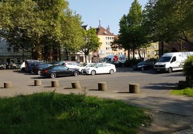 Parken auf dem Humboldter Marktplatz