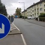 Verkehr auf der Gremberger- und Rolshoverstraße