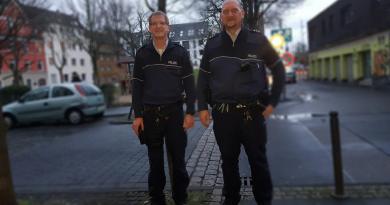 Polizeibeamte für Humboldt-Gremberg: Franz Jöckle und Andreas Sommer