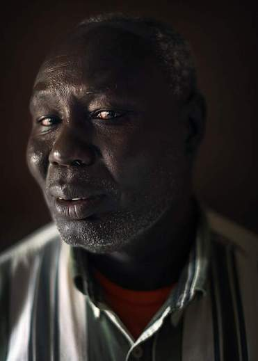 Gora Ojulu, a former finance official in Gambella, now exiled in Nairobi