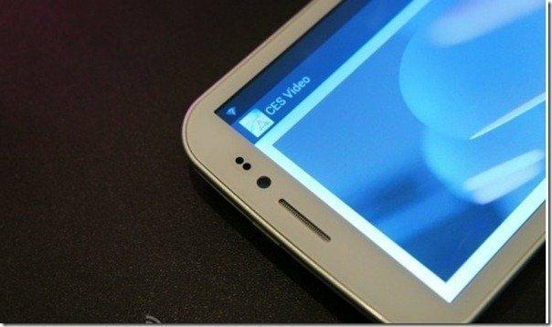 Future technology Concept of a smartphone with technology information transfer of ligh