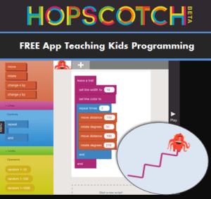 Image result for hopscotch coding