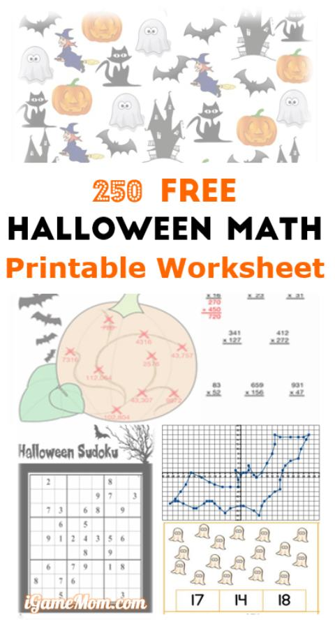 free halloween printables for kids # 54