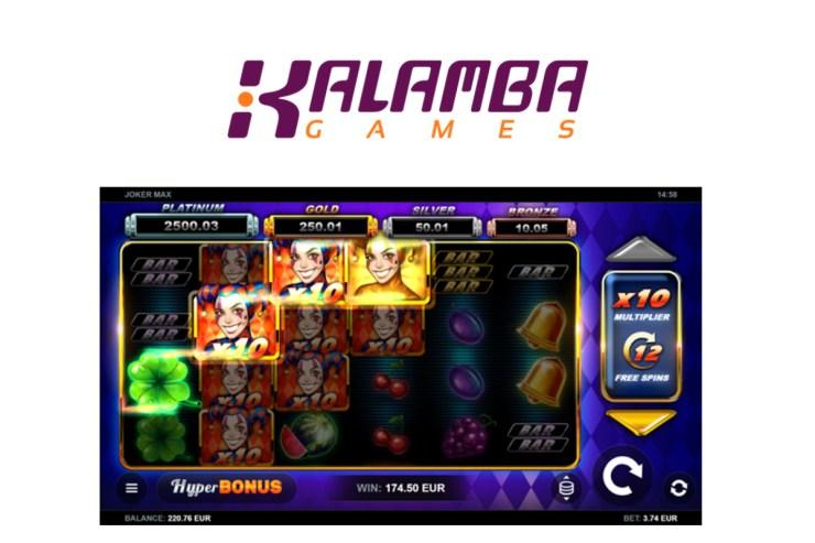 Kalamba Games' Joker MAX maximises win potential