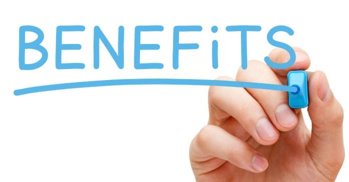 3 biggest benefits