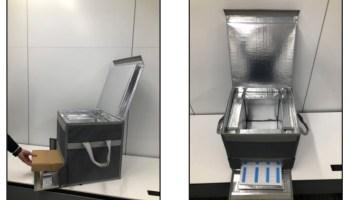 ワクチンおよび医薬品の輸送・保管用保冷箱