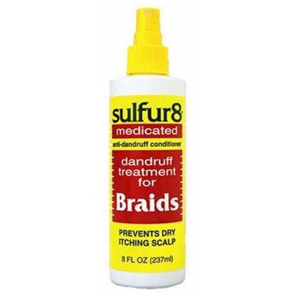 Sulphur 8 Medicated Braids Spray