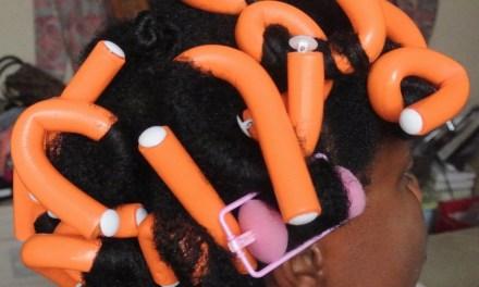Bantu Knots, Flexi Rods, Flat Twists & Foam Rollers