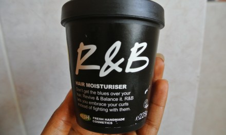 Product Review- Lush R & B Hair Moisturiser