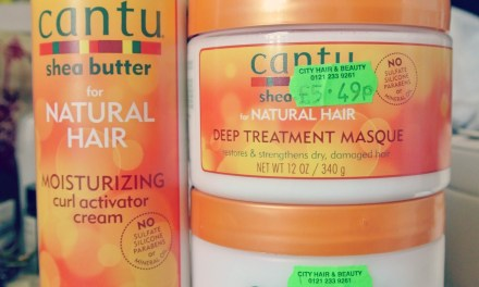 Product Review- Cantu Shea Butter Trio