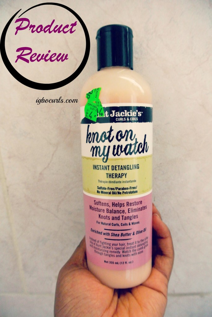 aunt-jackies-knot-on-my-watch Product Review- Aunt Jackie's Knot on My Watch Instant Detangling Therapy