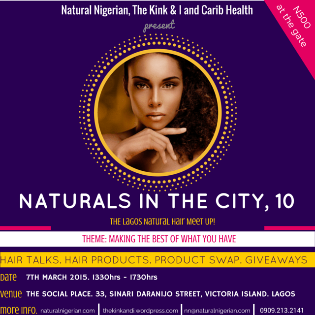 It's Happening! Naturals in The City 10!!