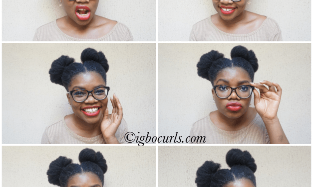 HOW DO YOU WEAR YOUR BUNS?