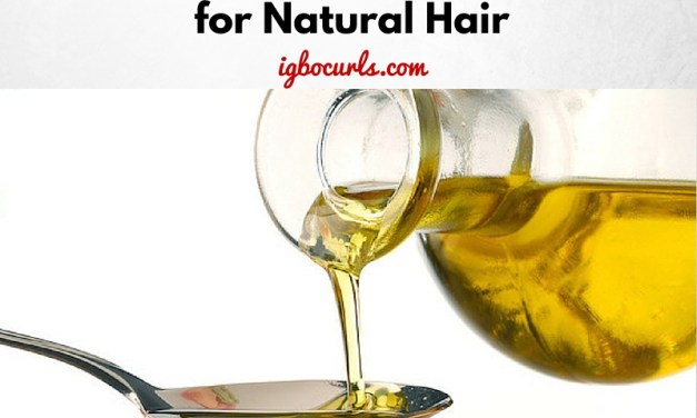 My Top 5 Oils for Natural Hair